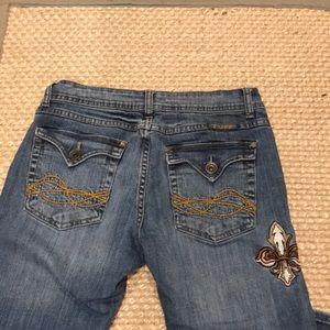 Cowgirl Tuff Saint Denim Jeans Sz 29/33